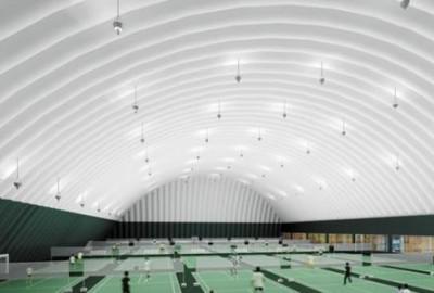 一个体育馆,让人们在冬天喜欢它——气膜结构体育馆