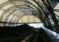 为什么充气膜结构煤棚的市场比钢结构煤棚更好?