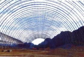 【石家庄膜结构企业哪家好】扔石块能击穿ETFE膜结构吗?