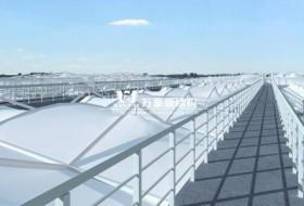 污水处理膜结构能给污水排放厂带来什么好处?