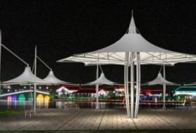 沧州张拉膜结构建筑专家分析钢结构建筑的推广