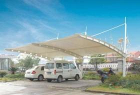 安装钢膜结构停车棚时应注意什么?
