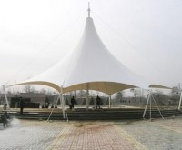 膜结构建筑膜结构帐篷酒店的优点