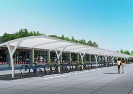 膜结构自行停车车棚存在的意义和原理