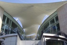 遮阳棚 之膜结构遮阳棚的产品用途
