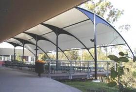膜结构雨棚价格,膜结构雨棚单价,报价多少钱一平米