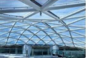ETFE膜结构维护费高吗?