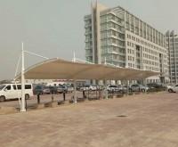 天津市静海区充电桩膜结构车棚
