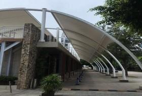 深圳市大梅沙游艇会所张拉膜结构工程