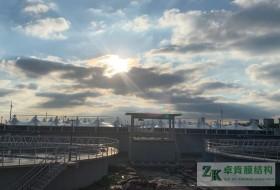 江苏南通市膜结构污水池反吊膜二期工程