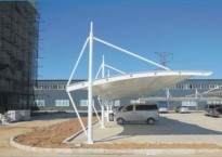 膜结构停车棚公司带您了解停车棚膜结构遮阳布都有什么作用?