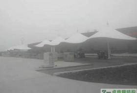 安徽(天长)今麦郎工厂汽车停车棚膜结构工程