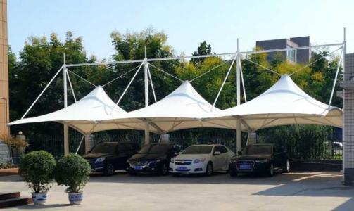 膜结构 停车棚