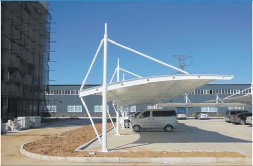 专业膜结构车棚