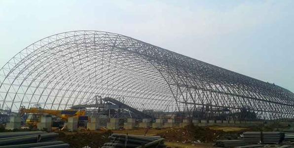 膜结构干煤棚