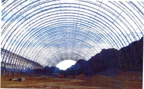 充气膜结构煤棚